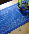 Blaudruck - Läufer - Meterware - 6204-0