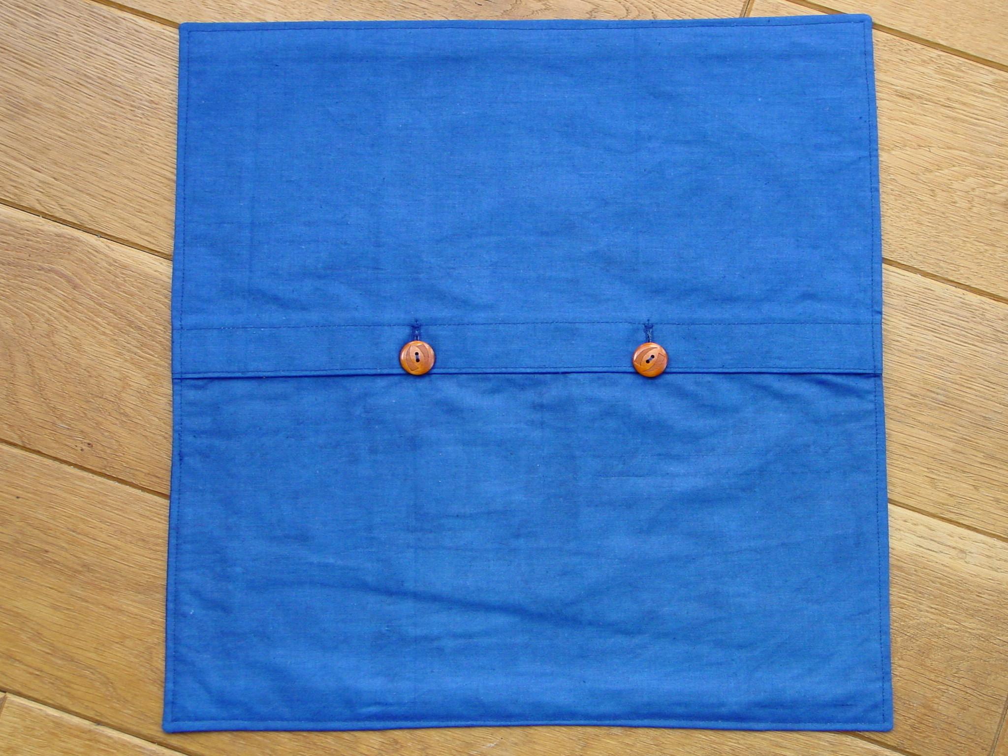Blaudruck - Kissenbezug 7101-207