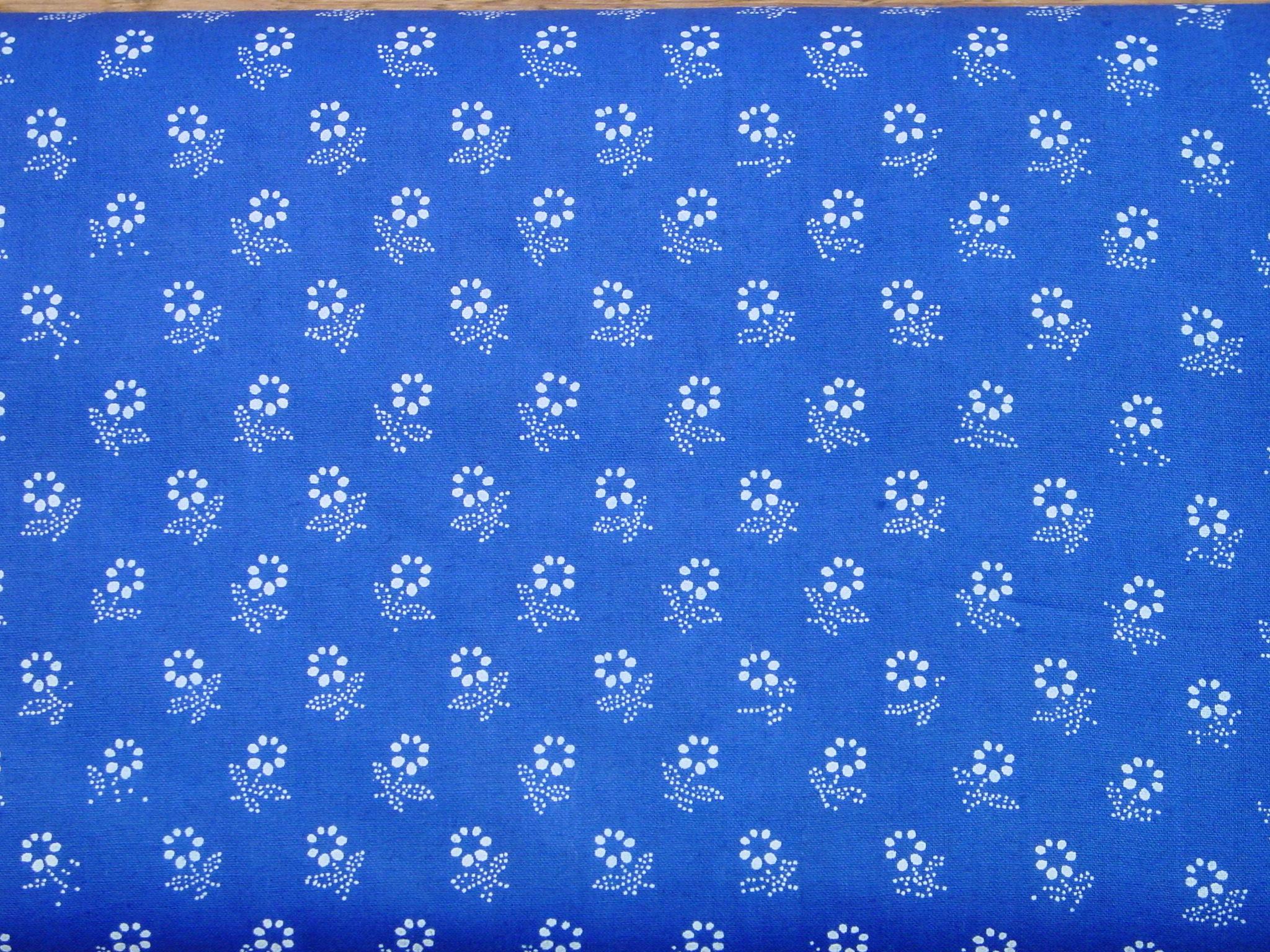 Blaudruckstoff 028-0