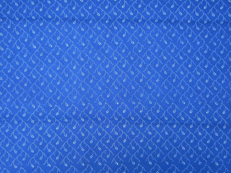 Blaudruckstoff 035-0