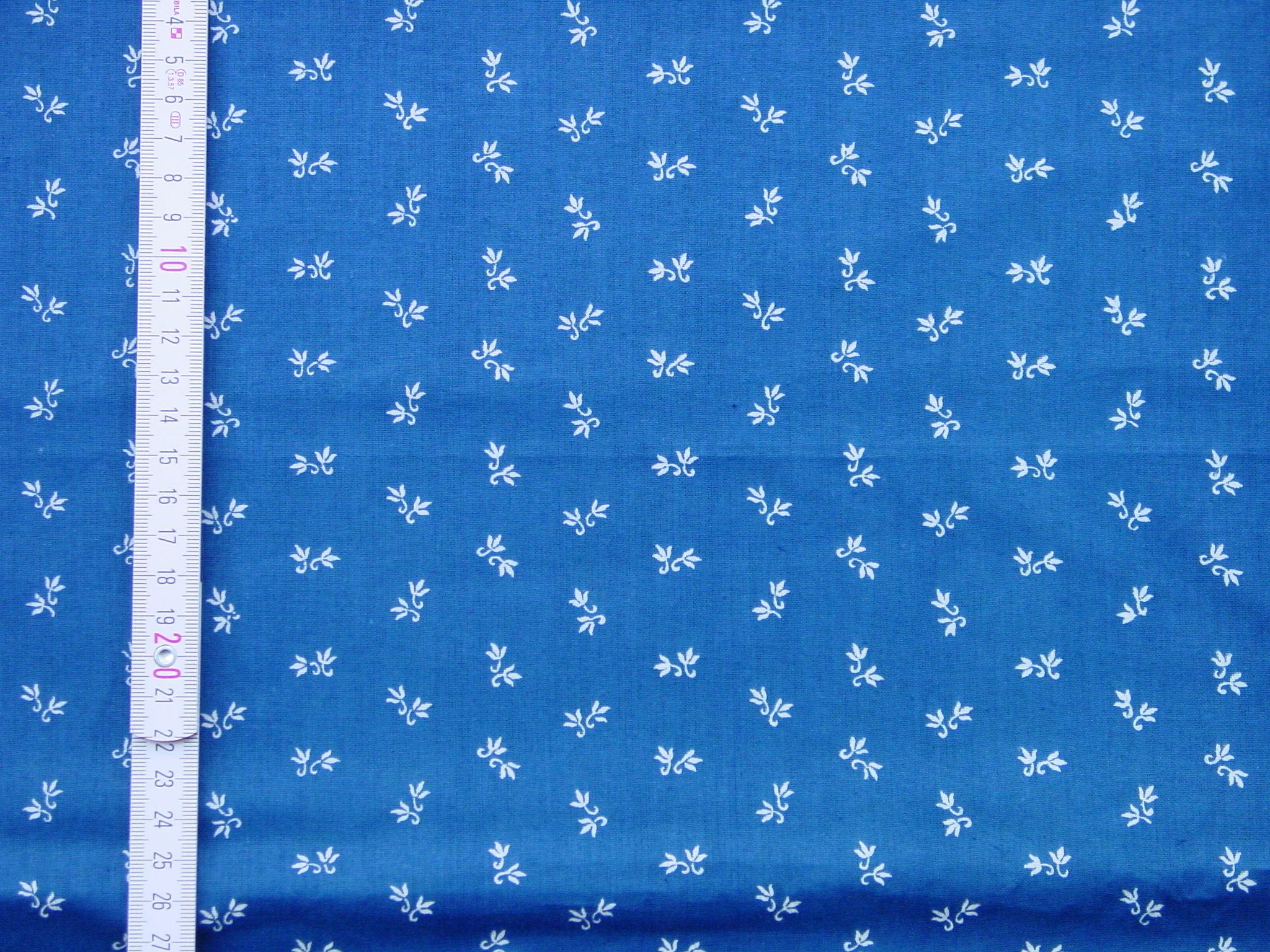Blaudruckstoff 036-0