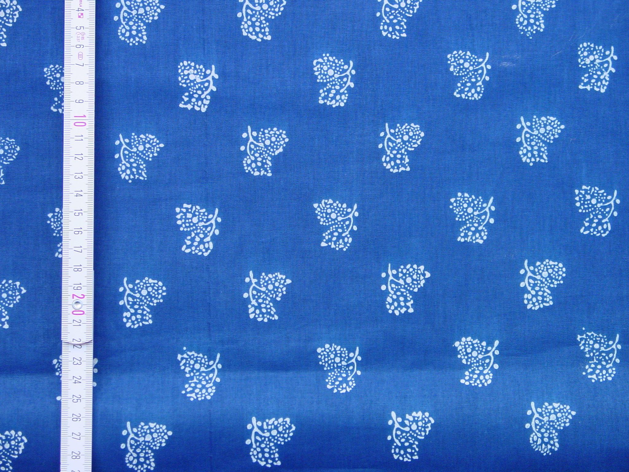 Blaudruckstoff 137-0