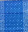 Blaudruck - Läufer - Meterware - 6212-0
