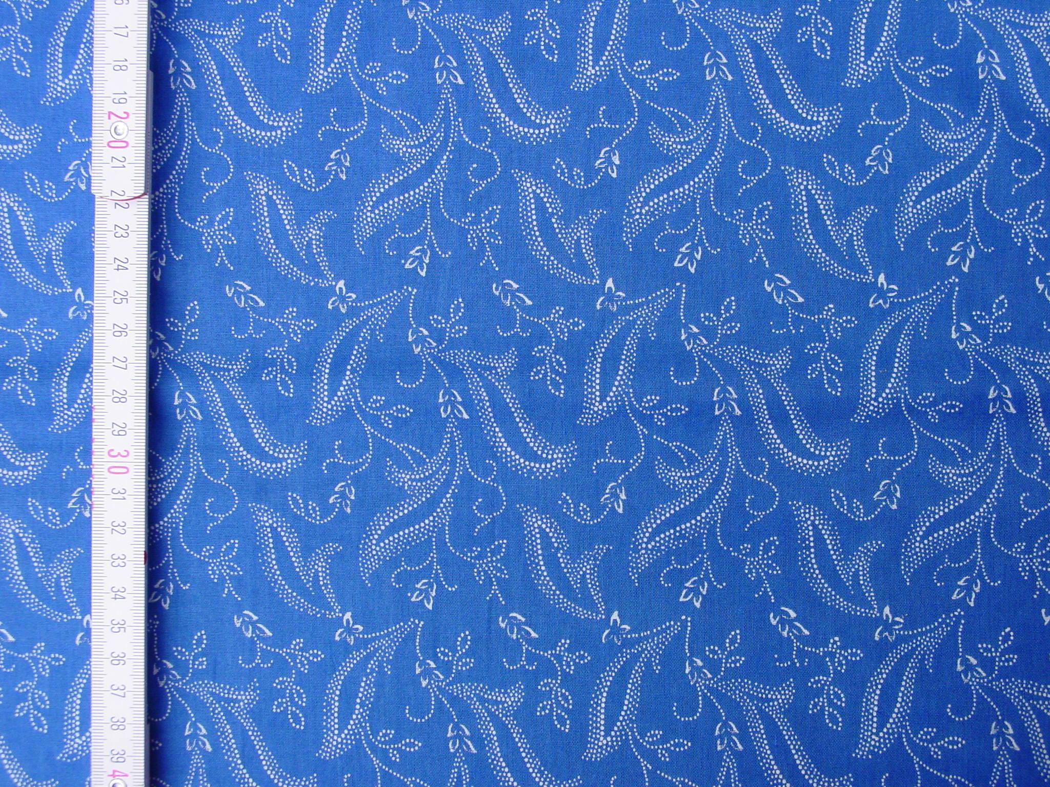Blaudruckstoff 144-0