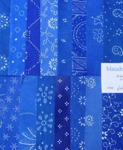 Blaudruck Patchwork-Stoffpaket 646-0