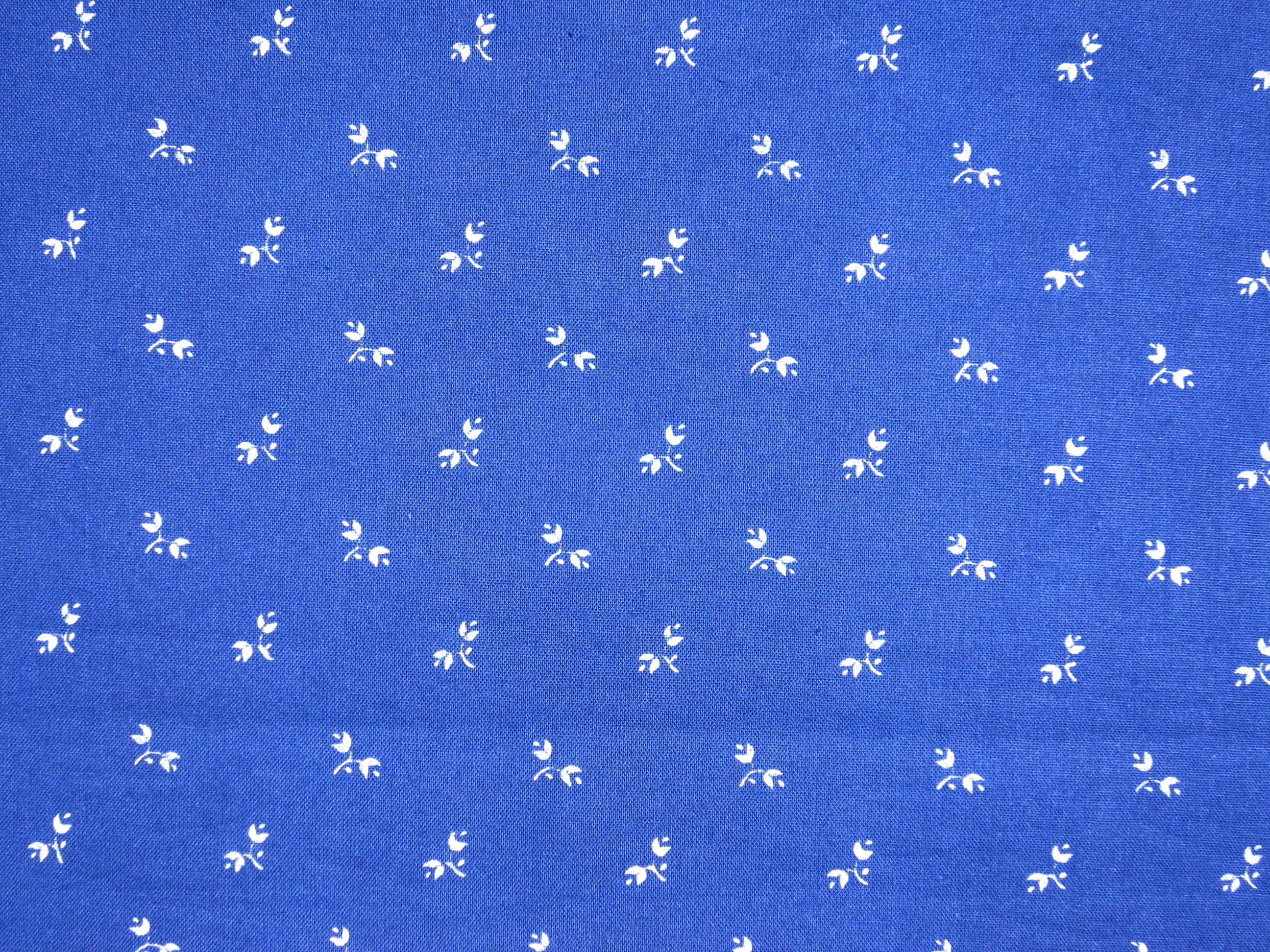 Blaudruckstoff 047 - Stoffbreite nur 70cm-0
