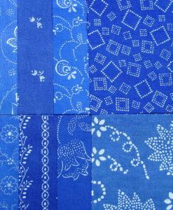 Blaudruck Patchwork-Stoffpaket 649-0