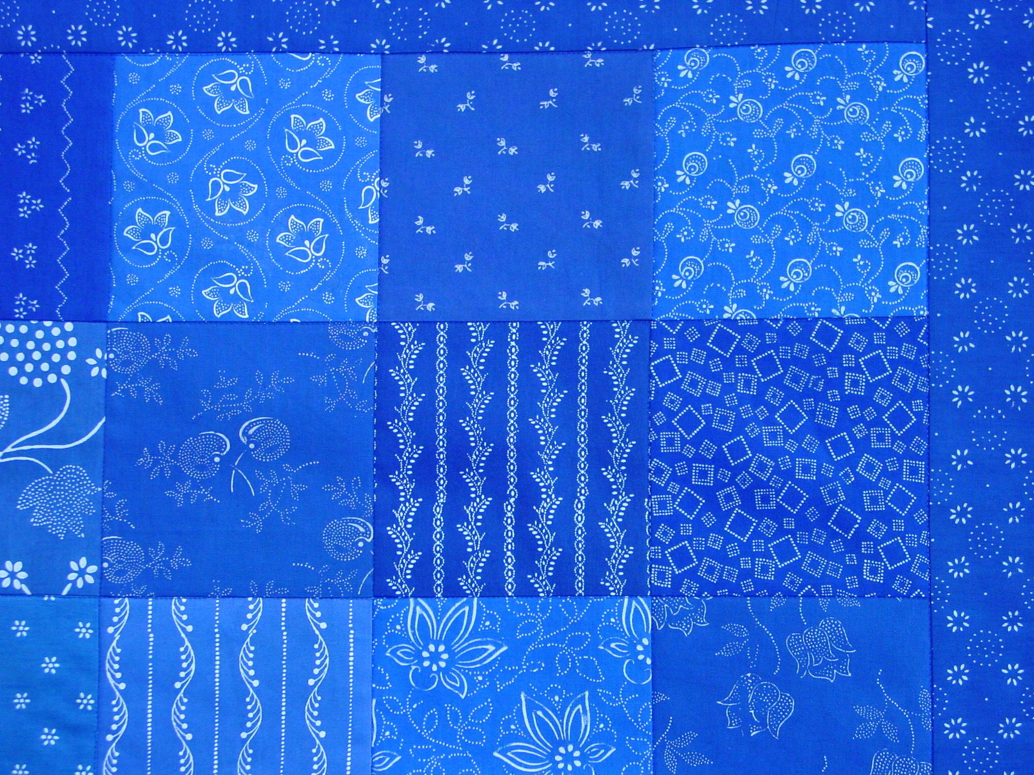 Blaudruck - Kissenbezug 7108-994