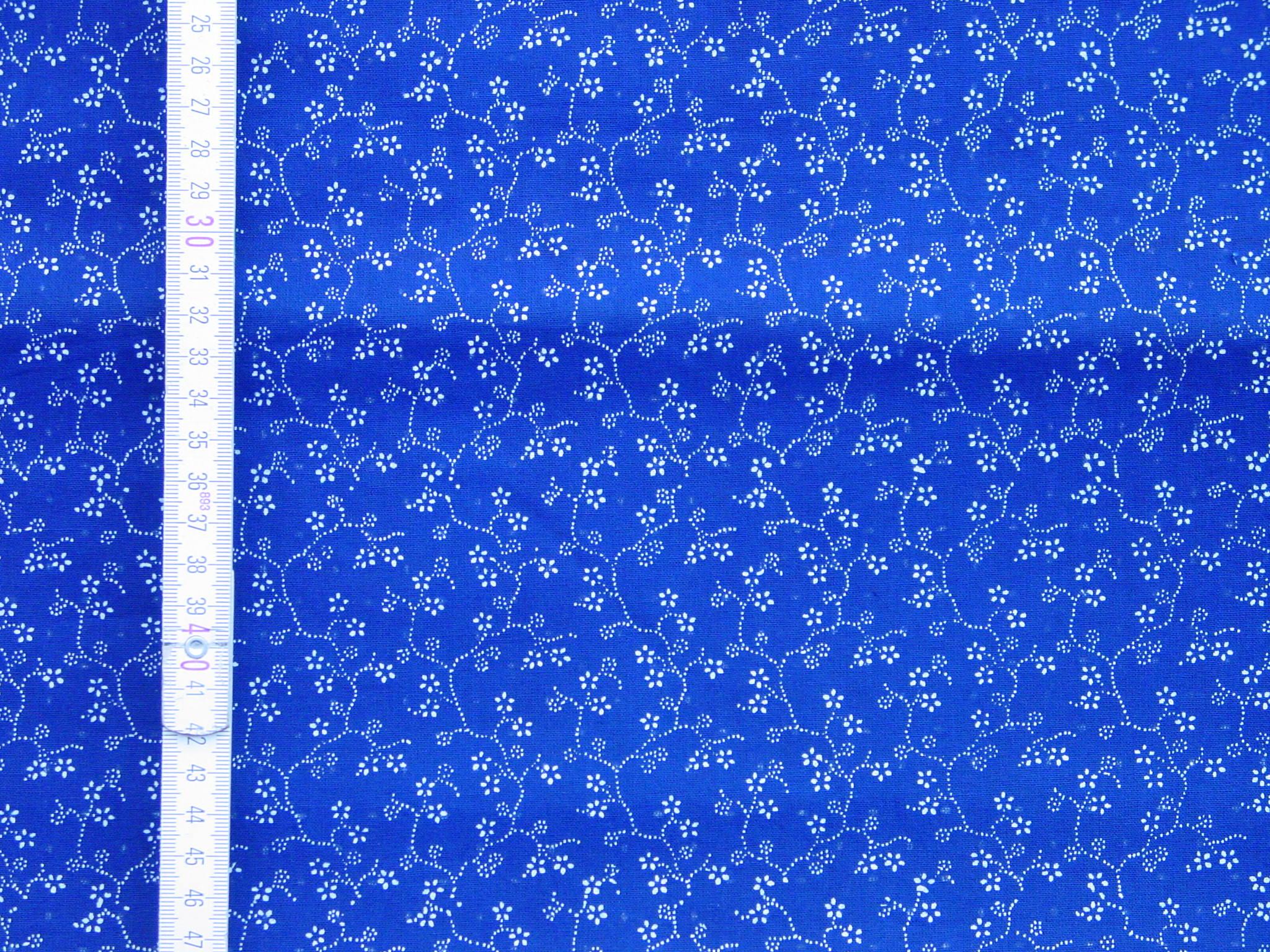 Doppeldruck-Blaudruckstoff 052-1010