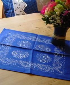 Blaudruck - Deckchen 6118-0
