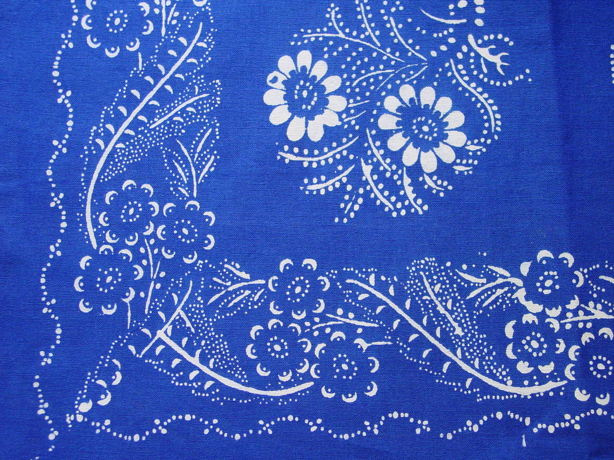 Blaudruck - Deckchen 6118-1028