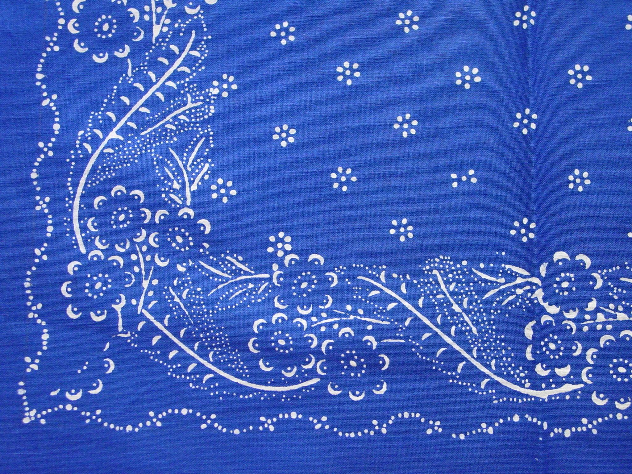 Blaudruck - Deckchen 6119-1032