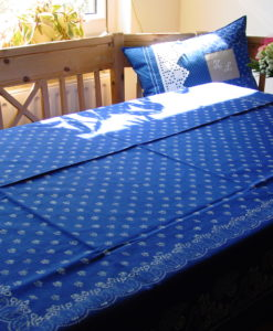 Große Blaudruck-Tischdecke 6474-0