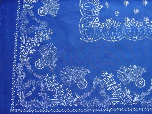 Große Blaudruck-Tischdecke 6474-1082
