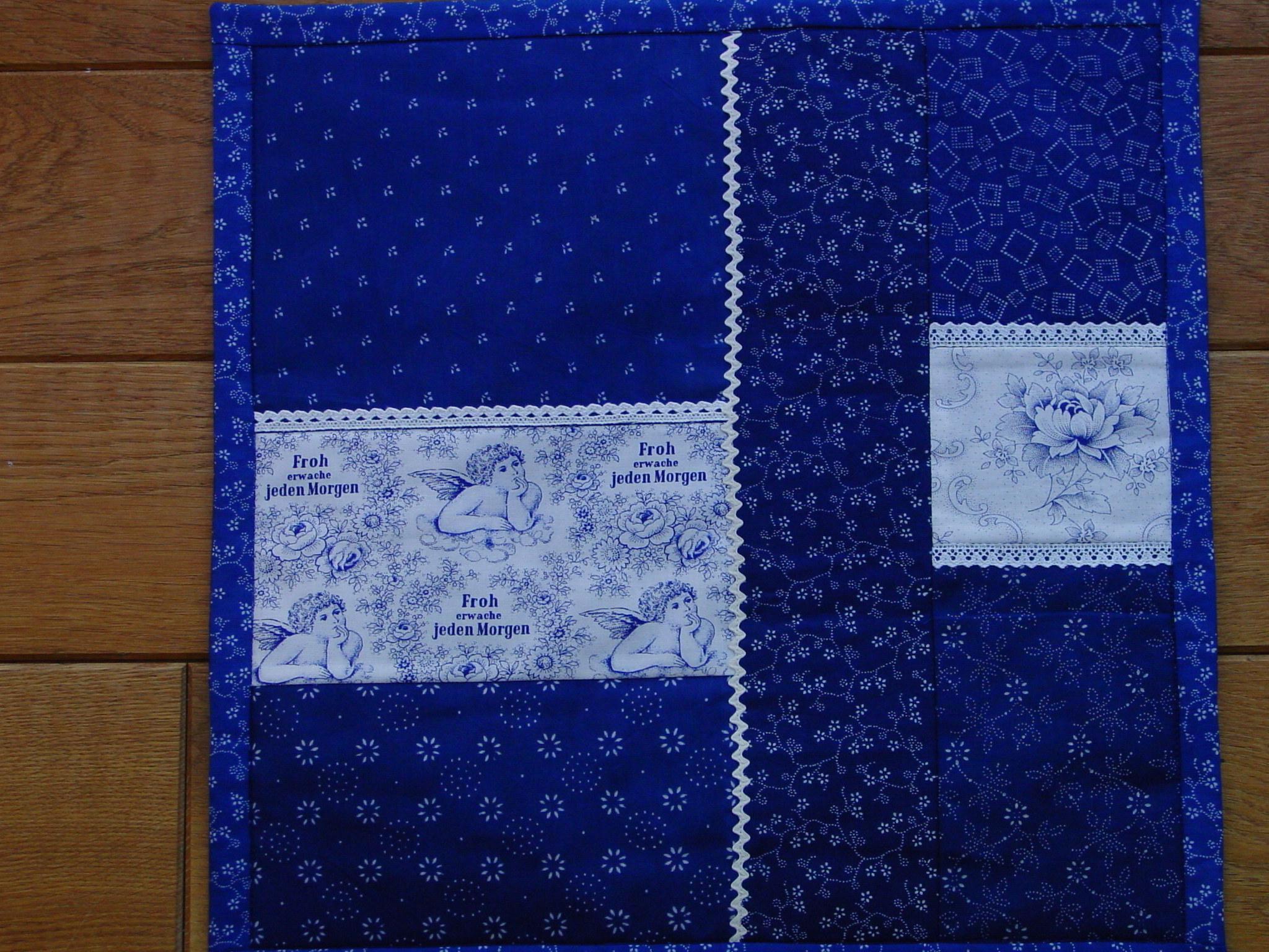 Blaudruck - Kissenbezug 7111-1125