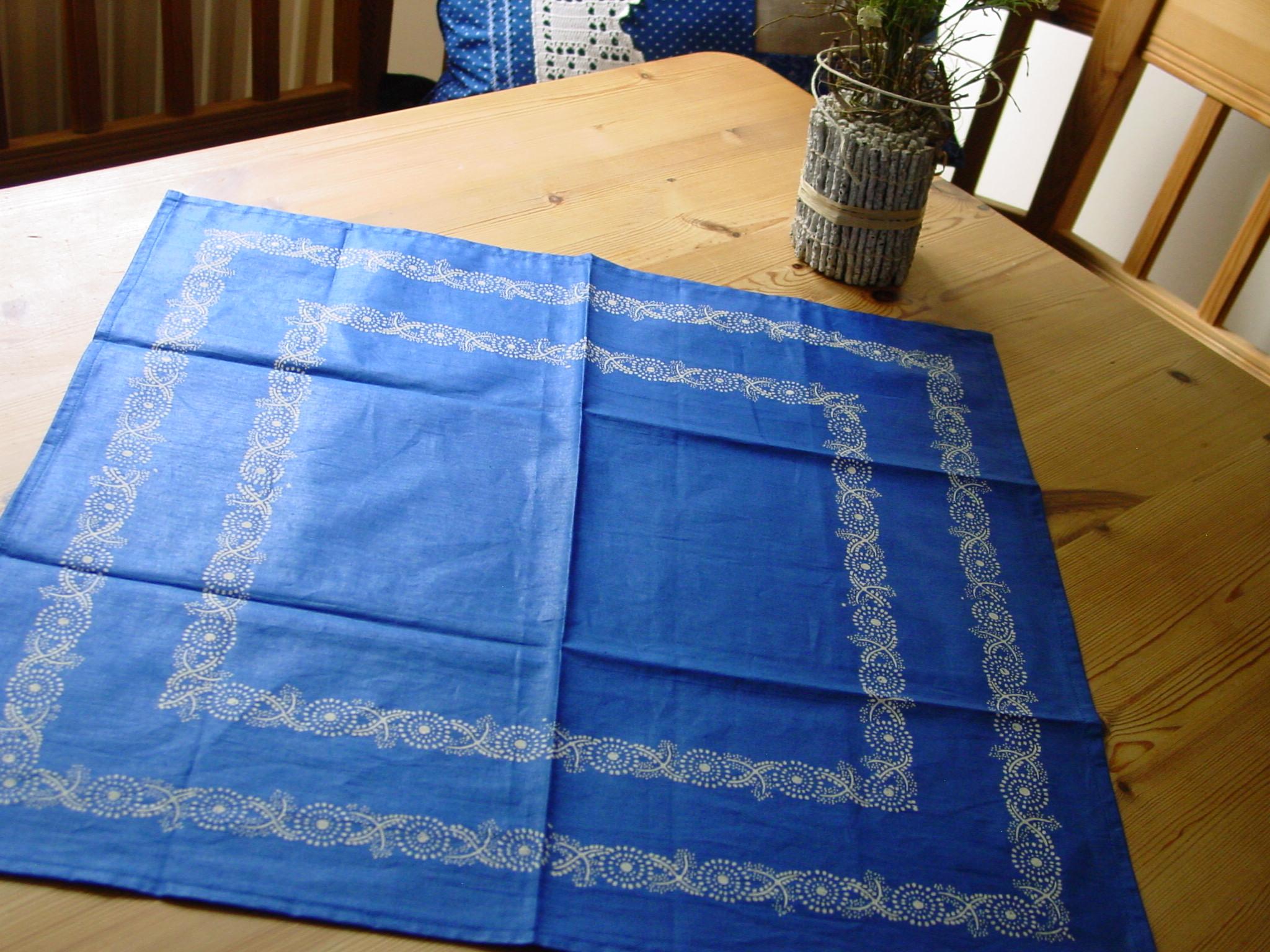 Blaudruck - Deckchen 6122-0