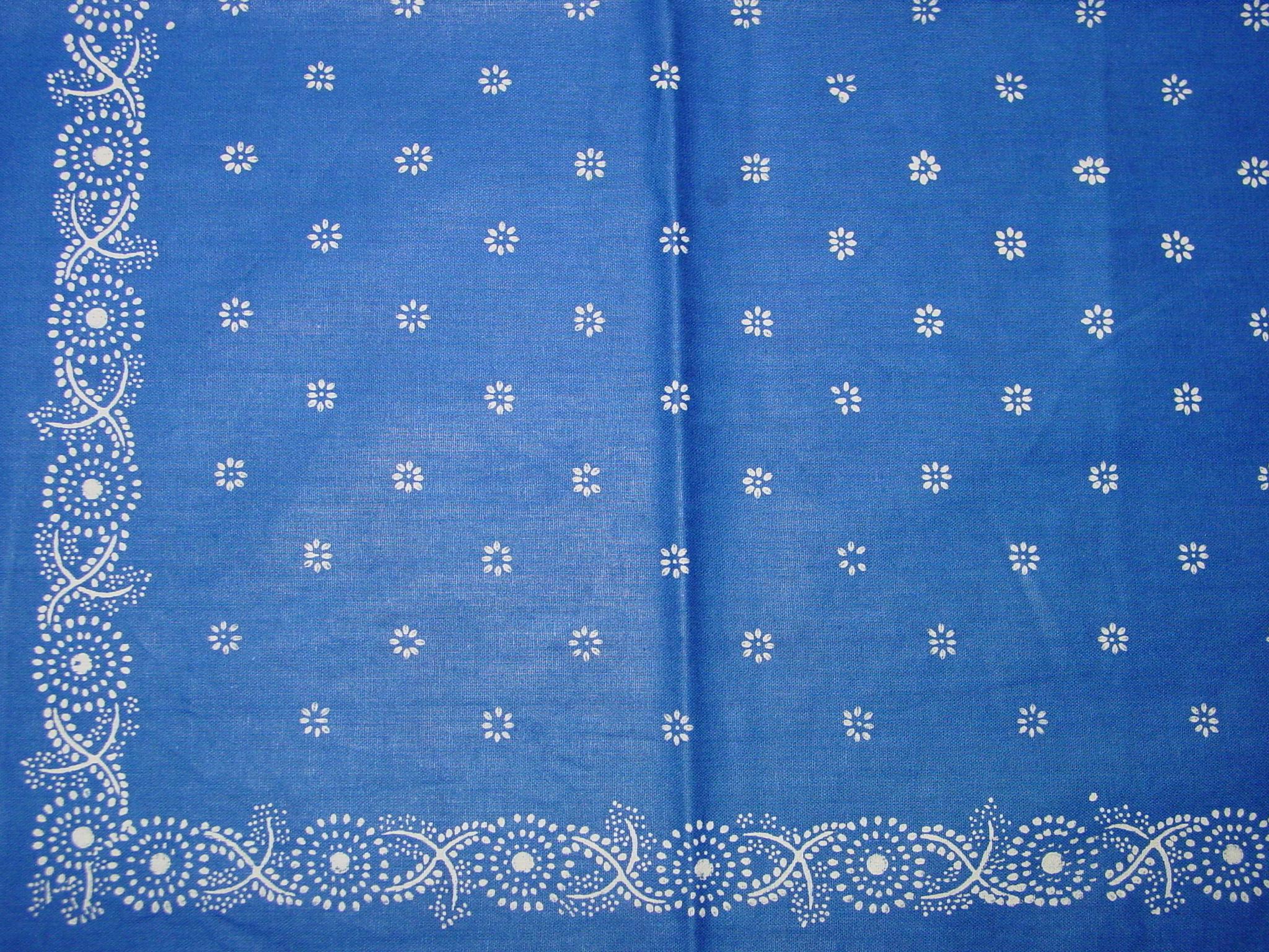 Blaudruck - Deckchen 6123-1211