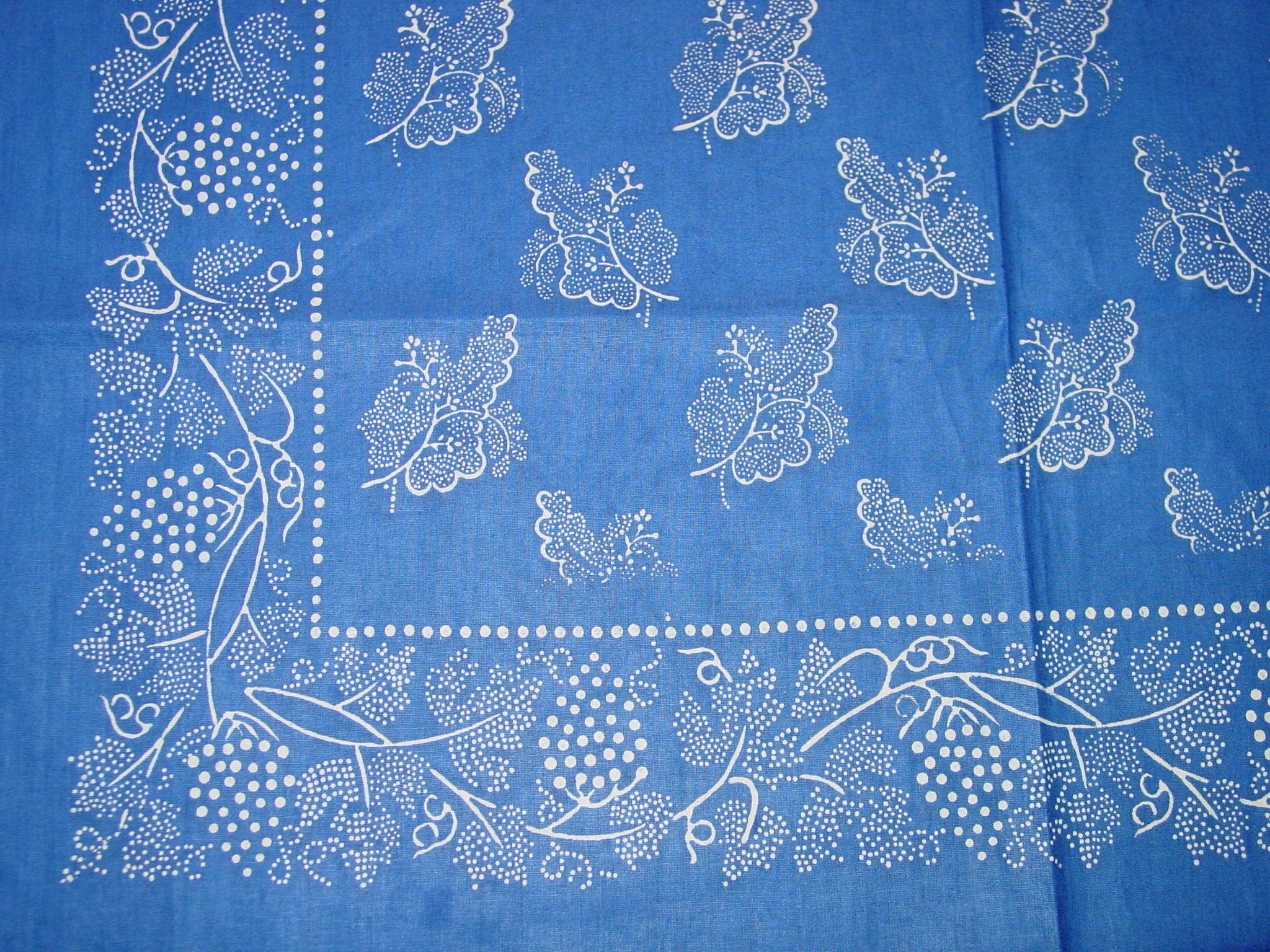 Blaudruck - Deckchen 6124-1214
