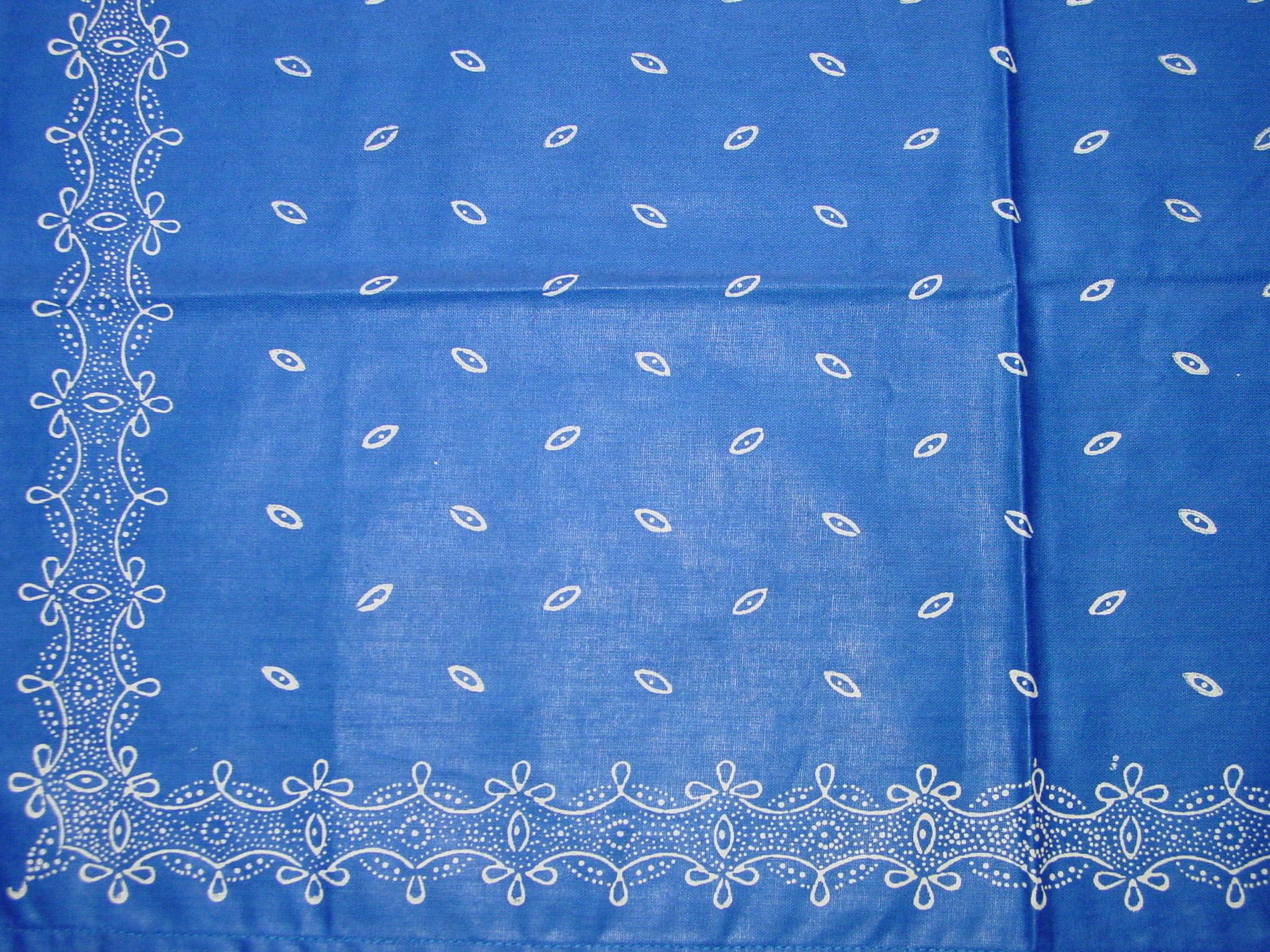 Blaudruck - Deckchen 6126-1222