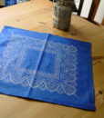 Blaudruck - Deckchen 6127-0