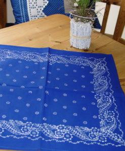 Blaudruck - Deckchen 6128-0