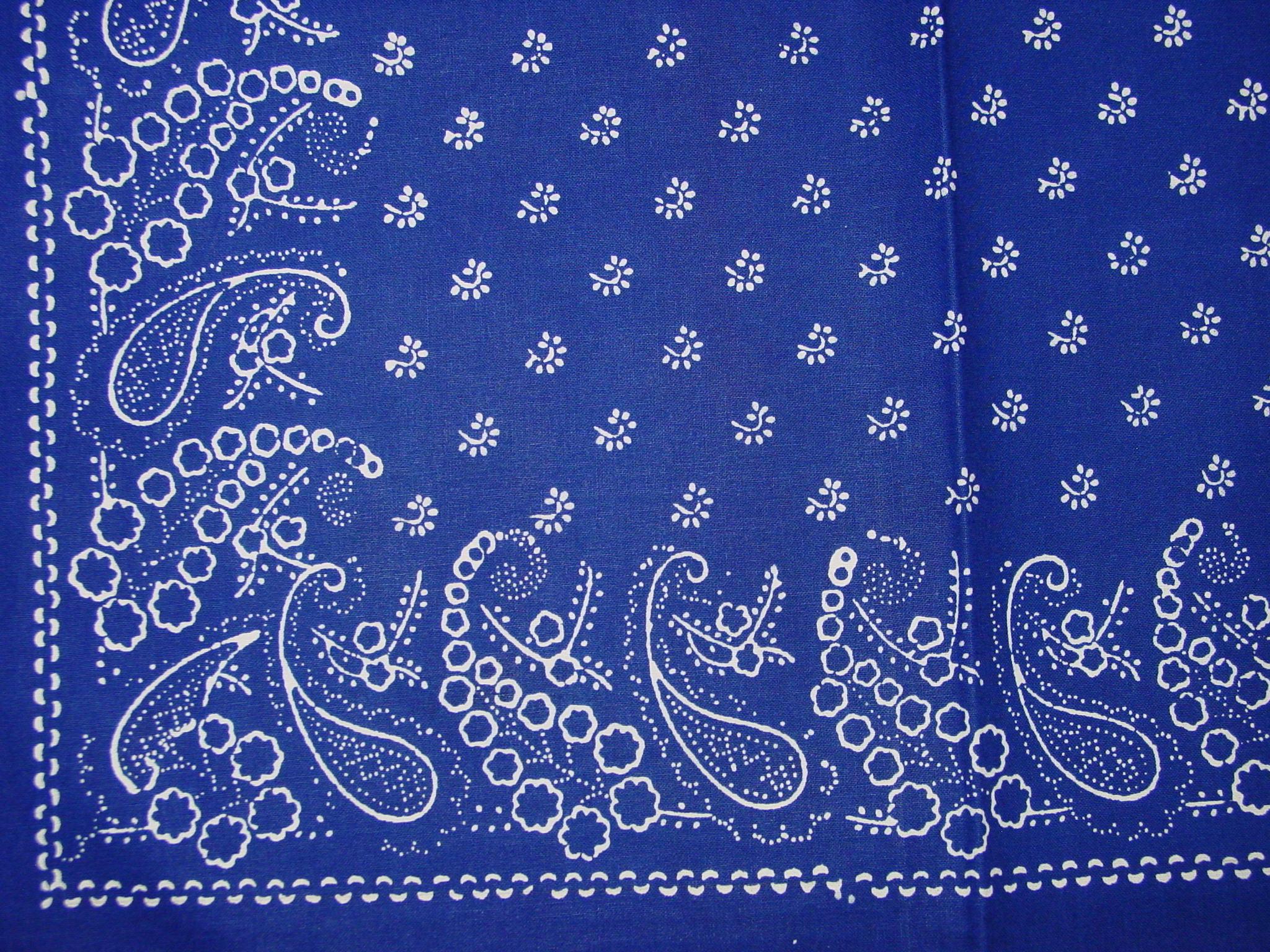 Blaudruck - Deckchen 6129-1234