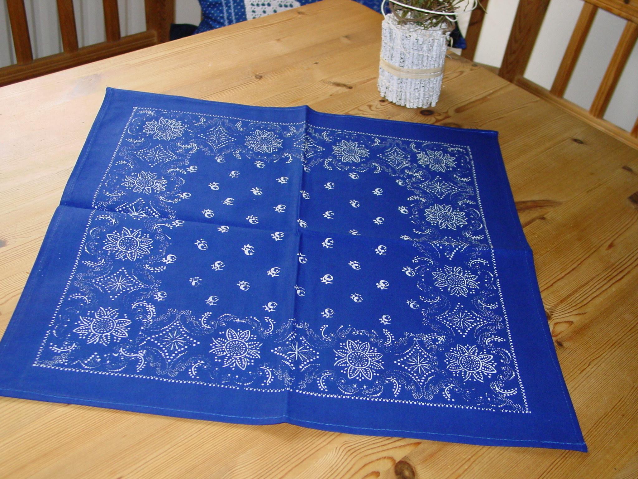 Blaudruck - Deckchen 6130-0