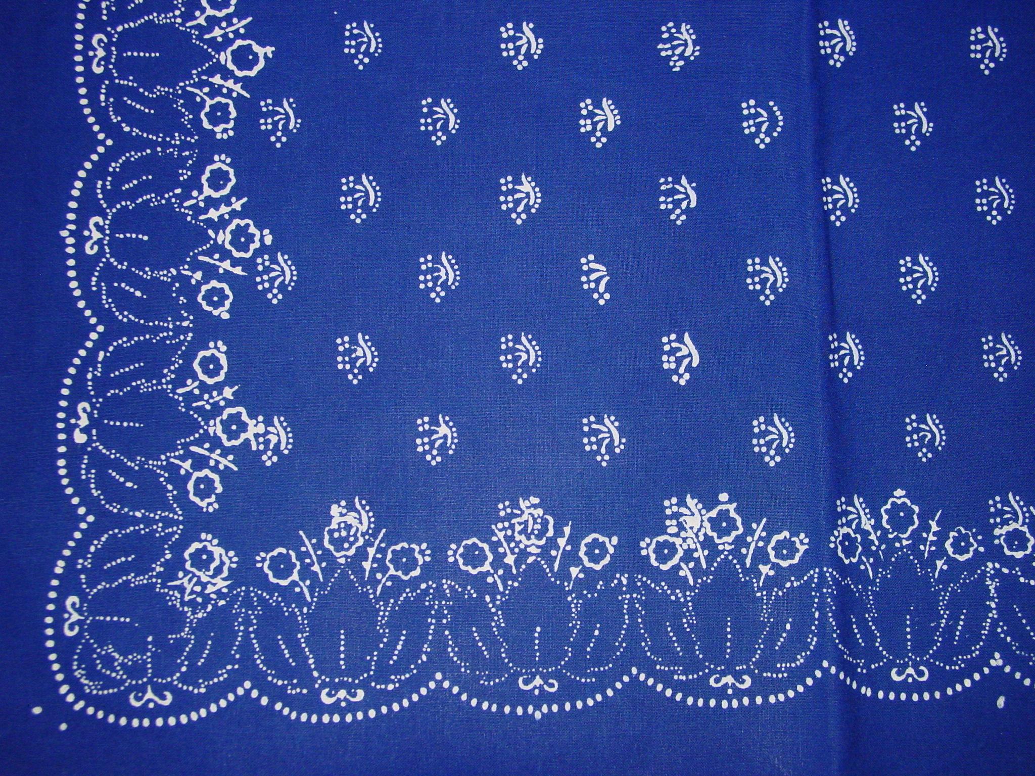 Blaudruck - Deckchen 6132-1247