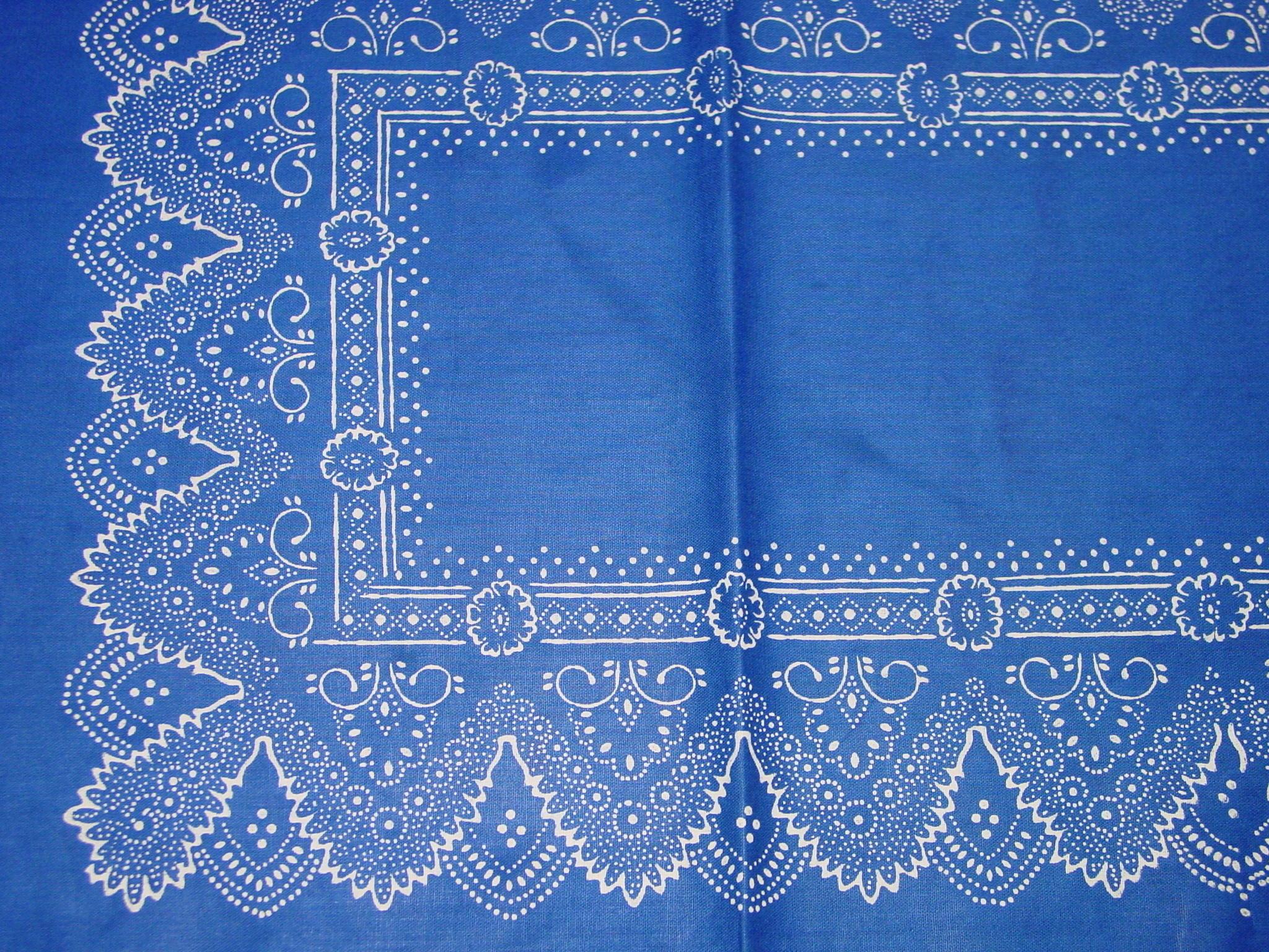 Blaudruck - Tischläufer 6222-1175