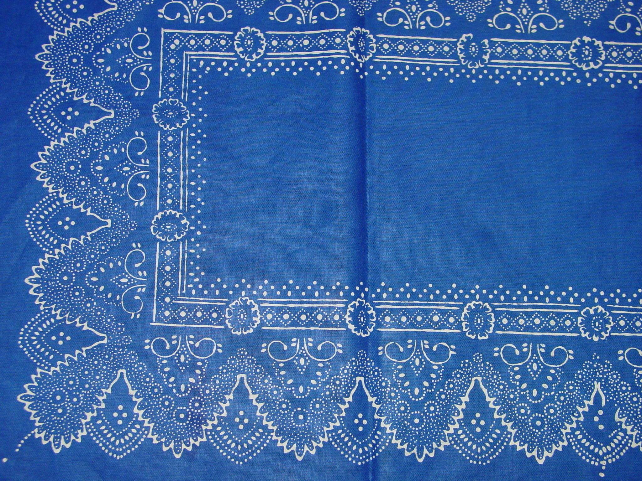Blaudruck - Tischläufer 6223-1178