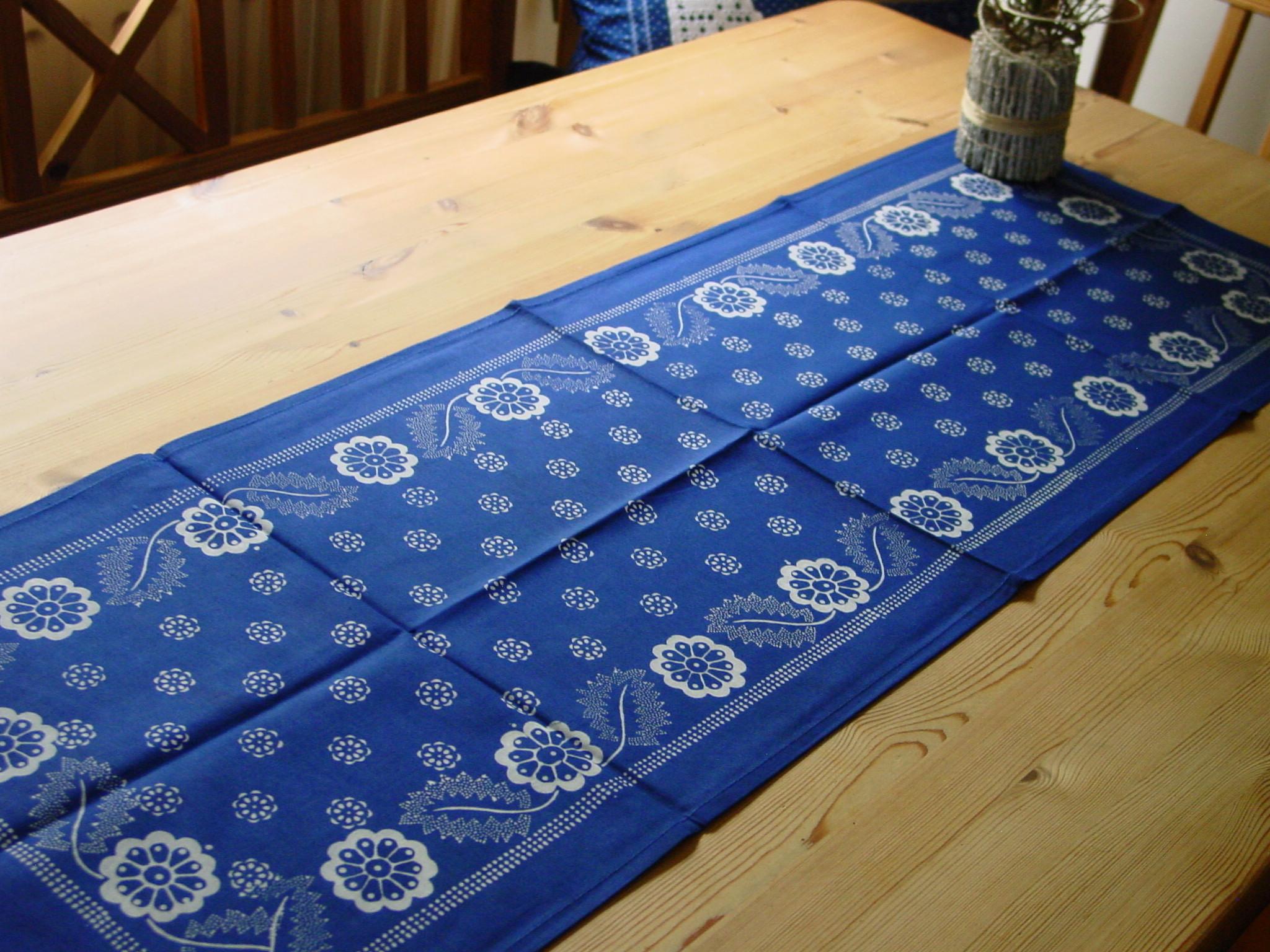 Blaudruck - Tischläufer 6226-0