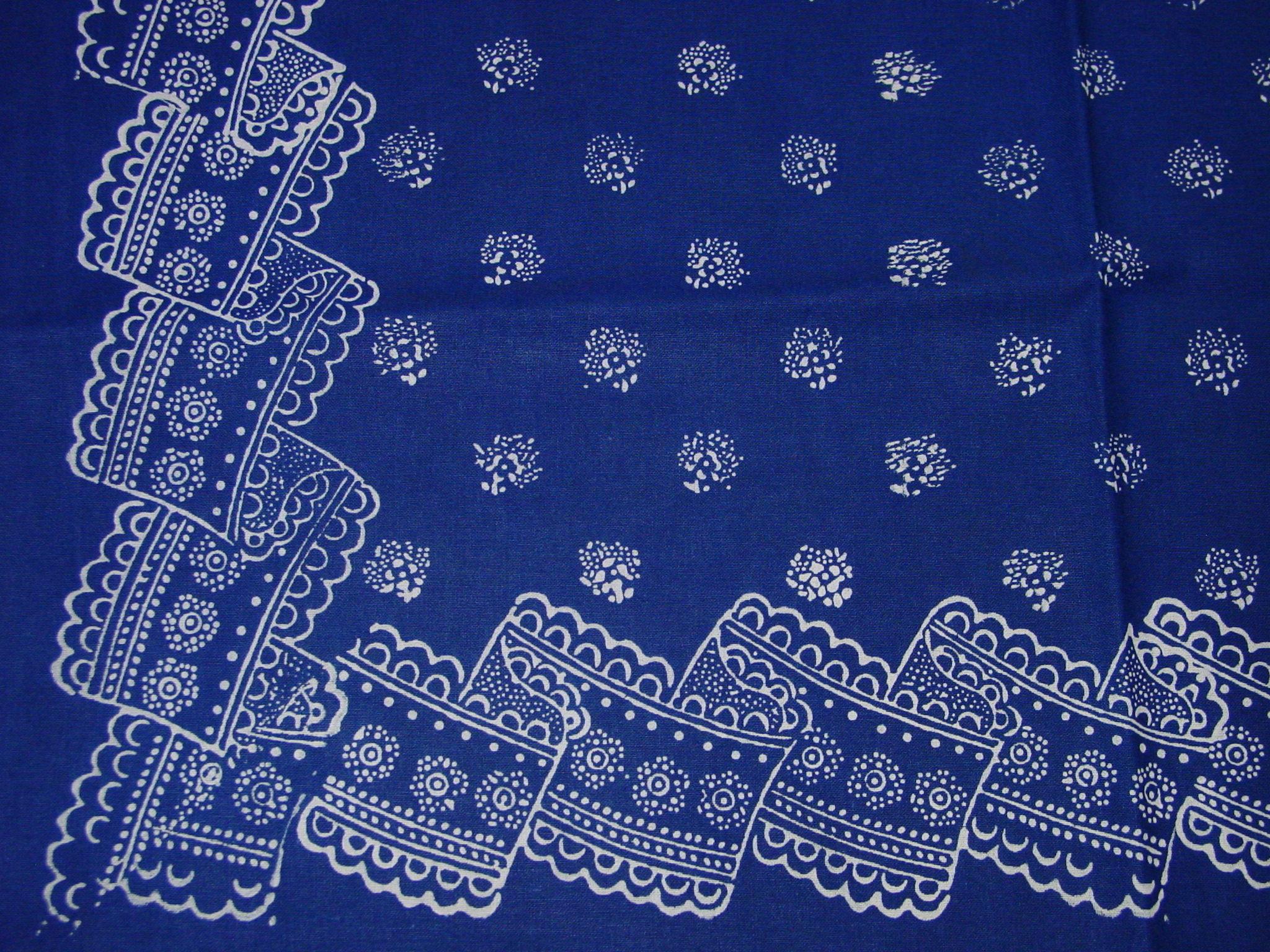 Blaudruck - Tischläufer 6227-1194