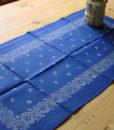 Blaudruck - Tischläufer 6228-0