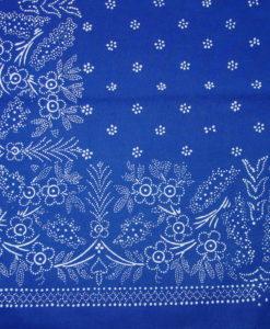 Blaudruck - Mitteldecke 6346-1142