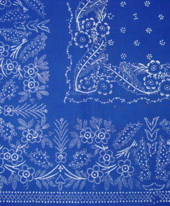 Blaudruck - Mitteldecke 6352-1163
