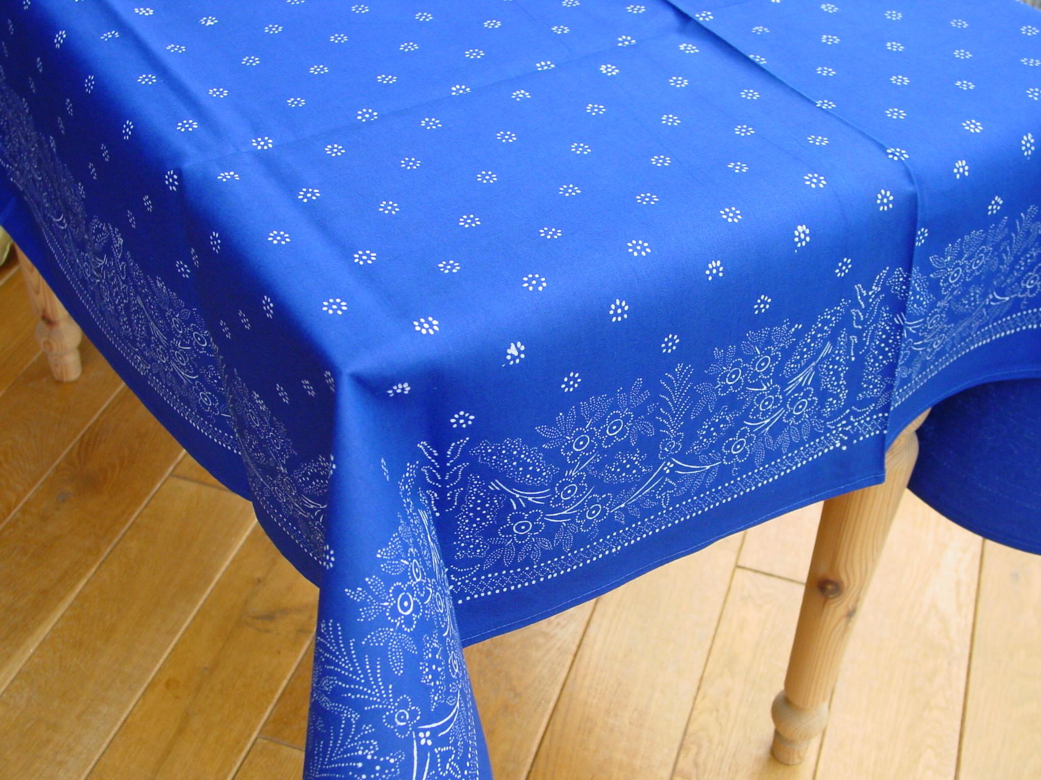 Große Blaudruck-Tischdecke 6479-0