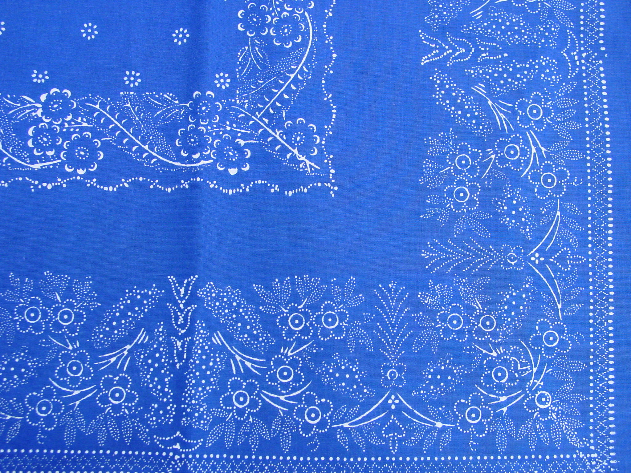 Große Blaudruck-Tischdecke 6481-1287