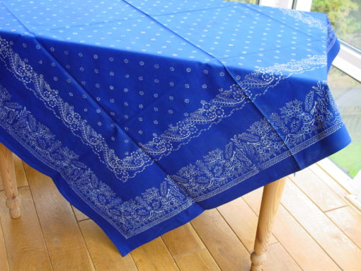 Große Blaudruck-Tischdecke 6482-0