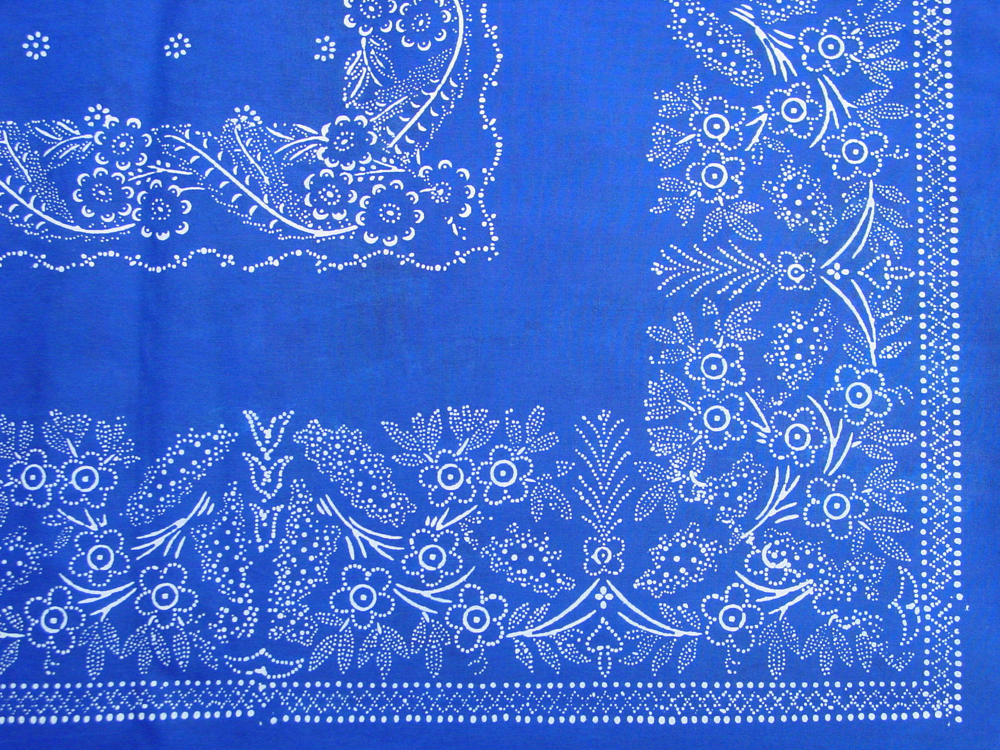 Große Blaudruck-Tischdecke 6482-1291