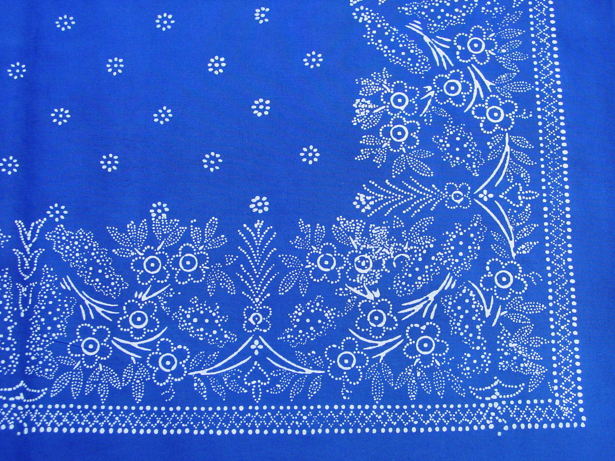 Große Blaudruck-Tischdecke 6483-1295