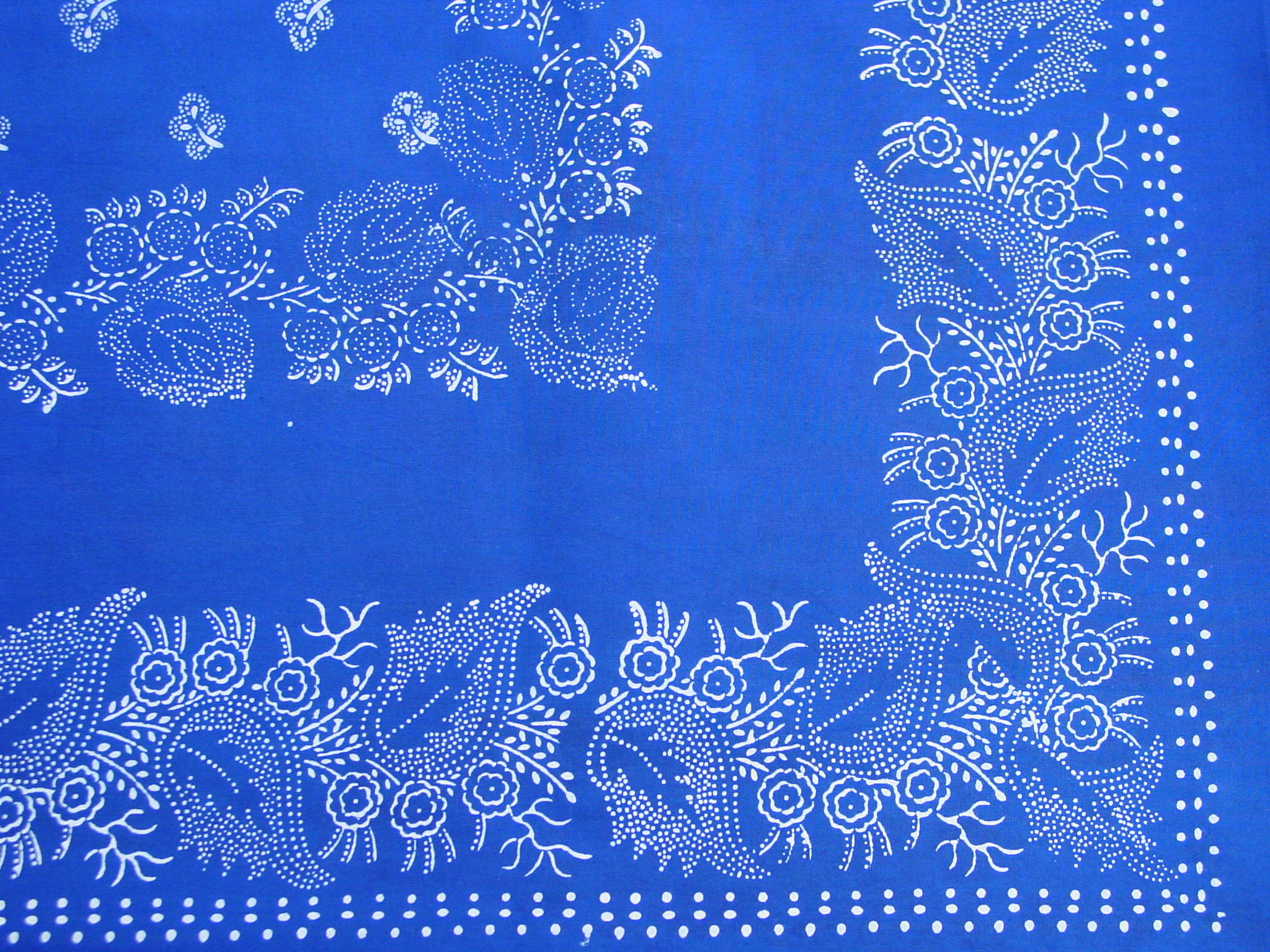 Große Blaudruck-Tischdecke 6485-1304