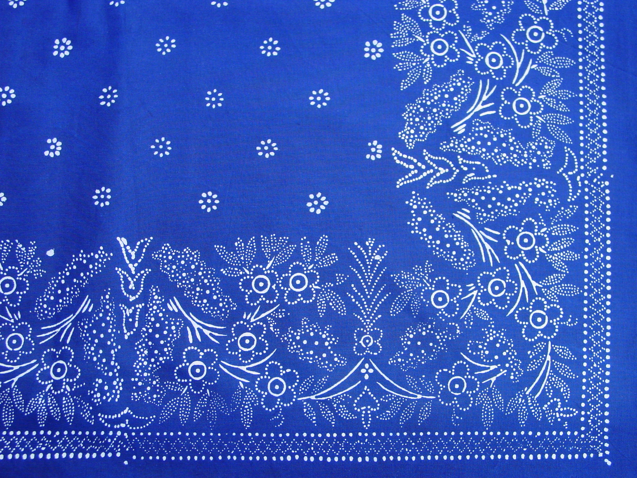 Große Blaudruck-Tischdecke 6487-1312