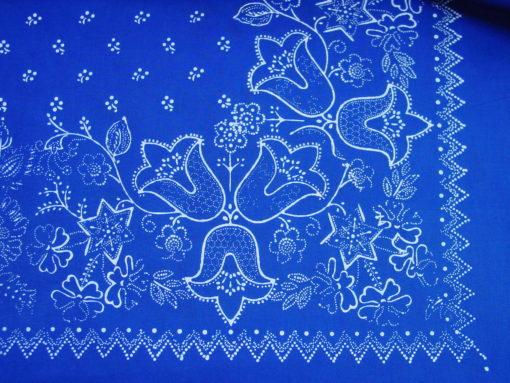 Große Blaudruck-Tischdecke 6488-1316