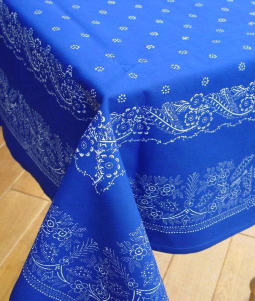 Große Blaudruck-Tischdecke 6489-0