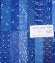 Blaudruck Patchwork-Stoffpaket 659-0