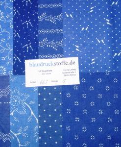 Blaudruck Patchwork-Stoffpaket 663-0